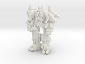 Superion (CW), Broadside Scaled in White Natural Versatile Plastic