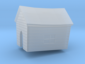 House in Smooth Fine Detail Plastic