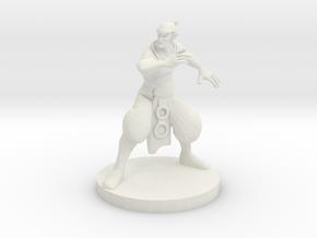 Elf Monk in White Strong & Flexible