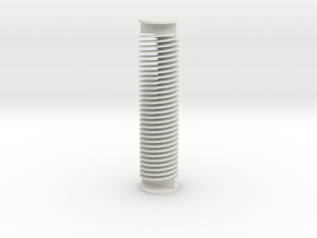 Helicoid24.2mm15 in White Natural Versatile Plastic