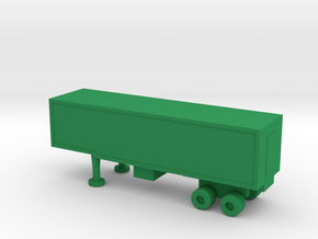 1/200 Scale M1006 Trailer in Green Strong & Flexible Polished