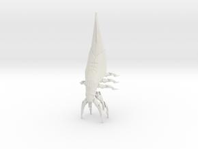 Harbinger Mass Effect Series Reaper in White Natural Versatile Plastic