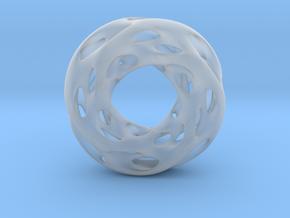 0610 IsoSurface F(x,y,z)=0 Diamond Tori [4] d=5cm in Smooth Fine Detail Plastic