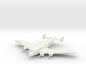 Junkers Ju 90 6mm 1/285 in White Natural Versatile Plastic