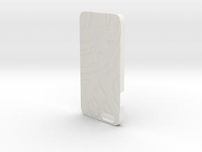 Iphone 6/6S Case (Silver) in White Natural Versatile Plastic