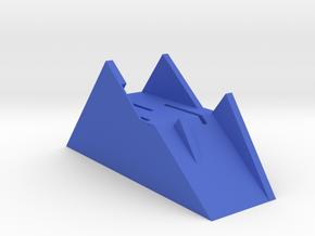 SD Card Mountain in Blue Processed Versatile Plastic