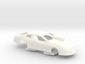 1/25 USDR Certified 2014 Pro Stock Dart Slot Car in White Processed Versatile Plastic