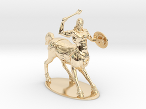 Centaur Miniature in 14k Gold Plated Brass: 1:60.96