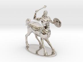Centaur Miniature in Rhodium Plated Brass: 1:60.96