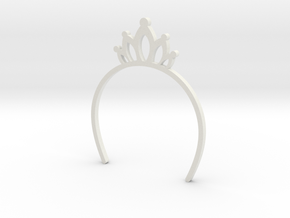 Neo blythe Doll Headband Crown in White Strong & Flexible