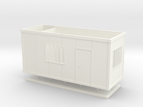 HO - Building Site Box - Large in White Strong & Flexible Polished