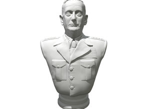 General James Mattis in White Natural Versatile Plastic