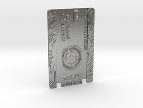 Star Citizen Card 2014 Personal in Natural Silver