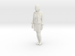 Printle C Femme 074 - 1/43 - wob in White Strong & Flexible