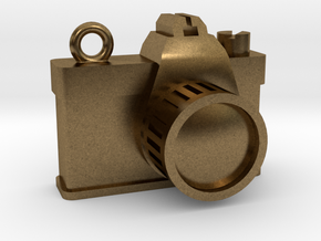 Camera in Natural Bronze