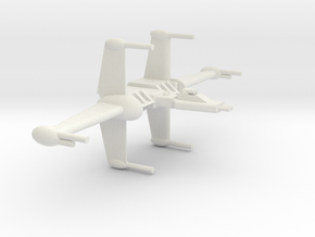 BY-Wing in White Natural Versatile Plastic