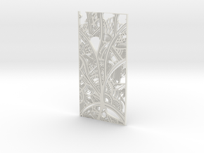 Tribal Panel Trees  in White Strong & Flexible