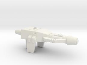 Shrapnel's Grenade Launcher, 5mm in White Natural Versatile Plastic