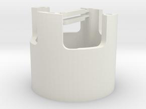 E36-motor bracket in White Strong & Flexible
