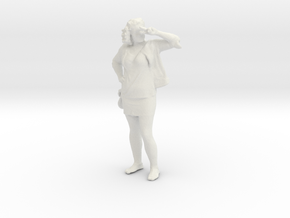 Printle C Femme 096 - 1/43 - wob in White Strong & Flexible