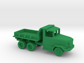 1/200 Scale M34 Dump Truck in Green Strong & Flexible Polished