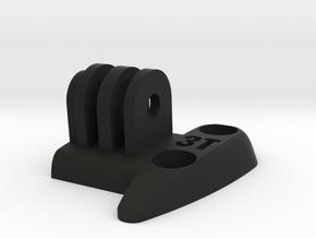 3T Zefiro Team Handlebar GoPro Adapter Left Side in Black Strong & Flexible