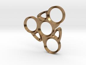 Blade Spinner in Natural Brass