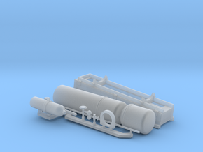 1:16 Early USN style Smoke Generator in Frosted Ultra Detail