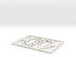 Gallifreyan Light Plate - Good Night in White Natural Versatile Plastic