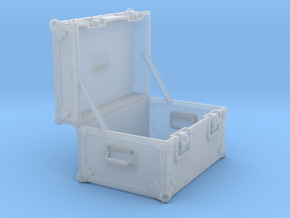 BACK FUTURE 1/8 EAGLEMOS PLUTONIUM BOX OPEN EMPTY  in Smooth Fine Detail Plastic
