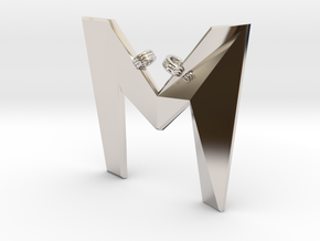 Distorted letter M in Platinum