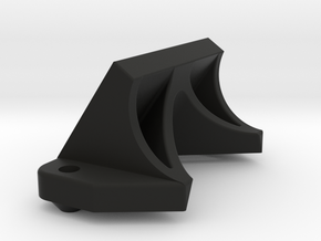 AE B6 Front Wing Mount in Black Natural Versatile Plastic
