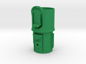 Adapter w Clip for Dyson V7/V8 to Pre-V7 in Green Processed Versatile Plastic