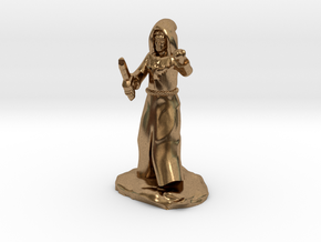 Dragon Cultist with Dagger in Natural Brass