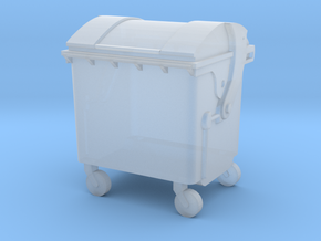 Small trash container in Smooth Fine Detail Plastic: 1:87 - HO