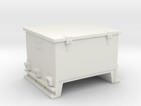 1/32 Germany Kriegsmarine Ammo Box Mid in White Natural Versatile Plastic