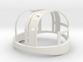 HDL 151 Turret Frame 1:10 in White Natural Versatile Plastic