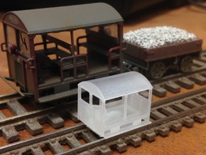 Wickham Trolley Car N (other gauges, lower price in Frosted Ultra Detail