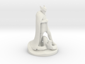 Talos Statue - Skyrim in White Strong & Flexible