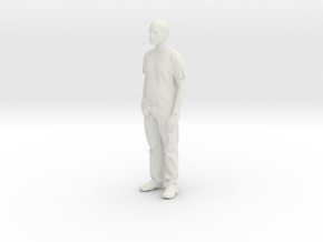 Printle C Homme 028 - 1/32 - wob in White Strong & Flexible