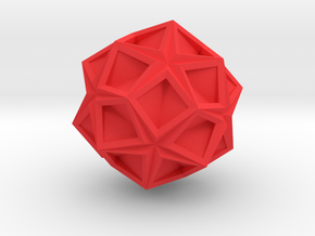 Kosudama in Red Processed Versatile Plastic