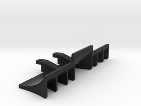 Xray T4 2014-15-16-17 Rear Diffuser in Black Strong & Flexible