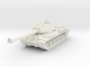 IS-2 with enlarged gun in White Natural Versatile Plastic
