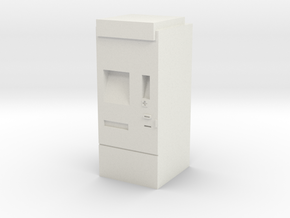 Modern ticket machine (DB and others) in White Strong & Flexible: 1:87 - HO
