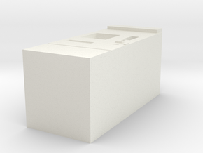 Modern ticket machine (DB and others) in White Natural Versatile Plastic: 1:120 - TT