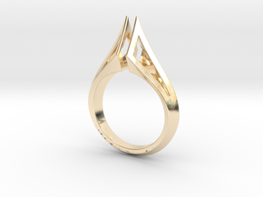 Wire Torc Ring in 14K Yellow Gold: 4 / 46.5