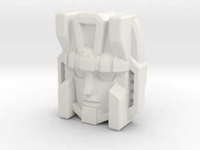 Thunderclash/Machine Wars Prime (Titans Return) in White Natural Versatile Plastic