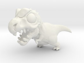 Breedingkit Tyrannosaurus in White Natural Versatile Plastic