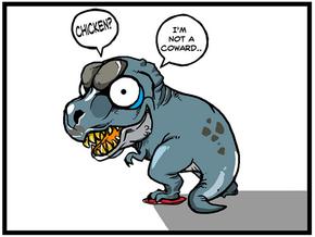 Breedingkit Tyrannosaurus(JISADONG's Comics) in Full Color Sandstone
