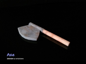 boOpGame Shop - The Axe in Full Color Sandstone